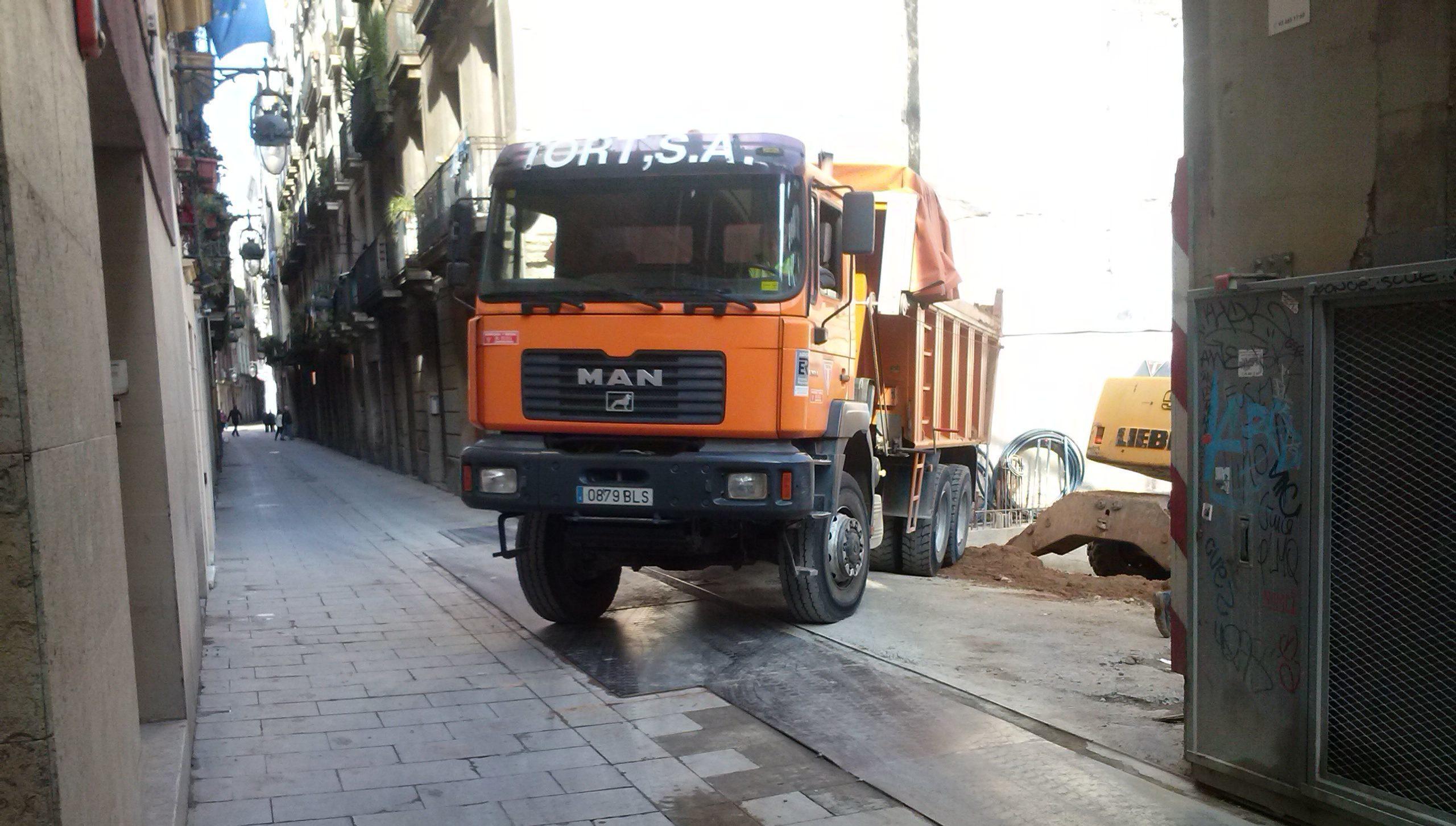 movimiento de tierras barcelona